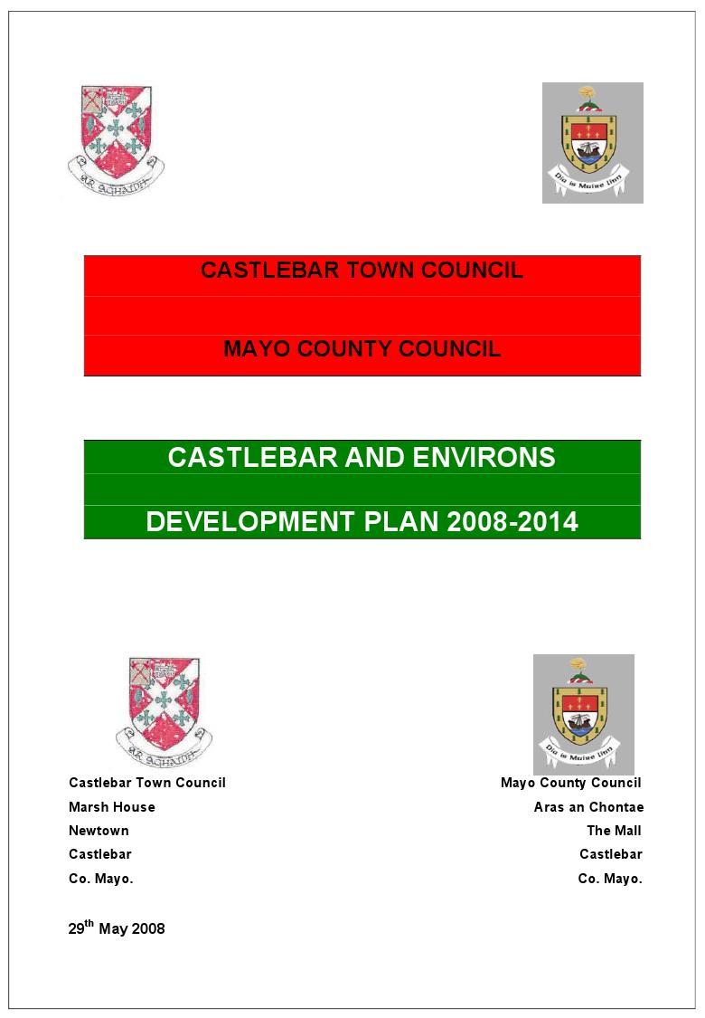castlebar front cover